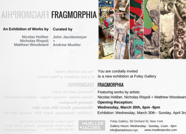 FRAGMORPHIA: Featuring Nicolas Holiber, Nicholas Rispoli and Matthew Woodward